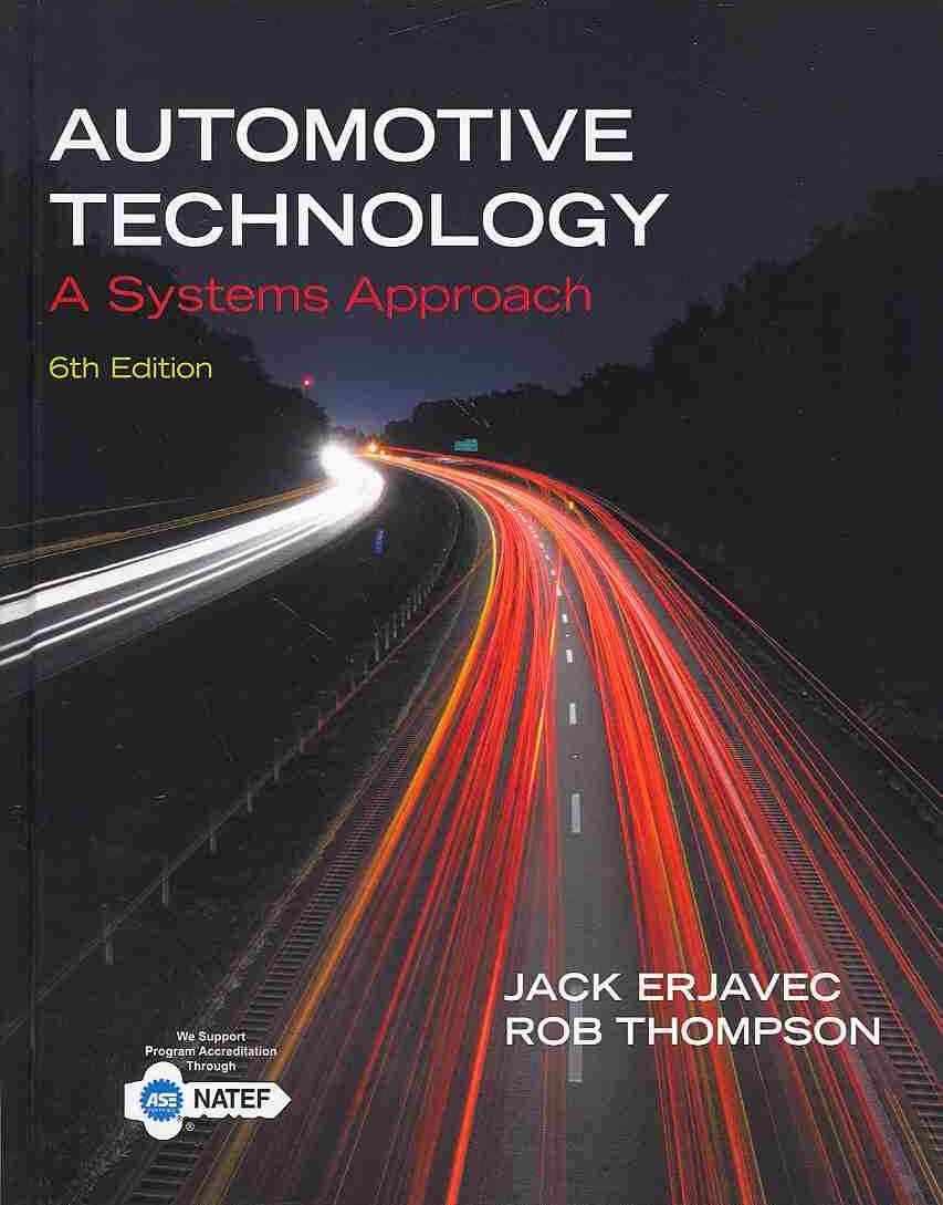 Automotive Technology By Erjavec, Jack/ Thompson, Rob